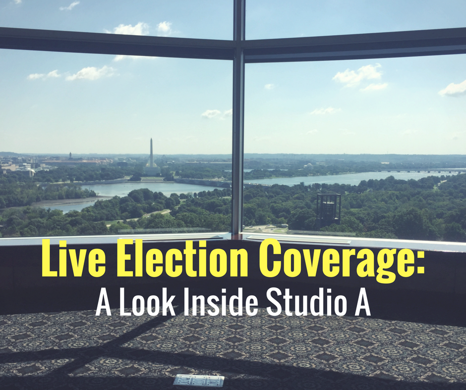 Live Election Coverage: A Look Inside Studio A