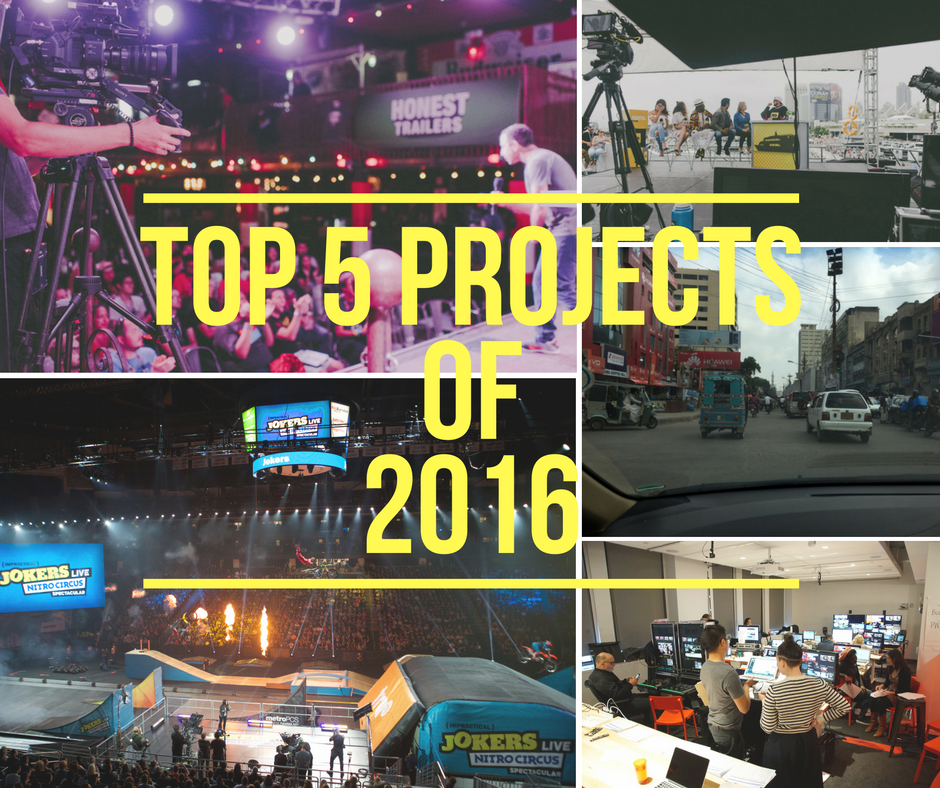 Top 5 Projects of 2016