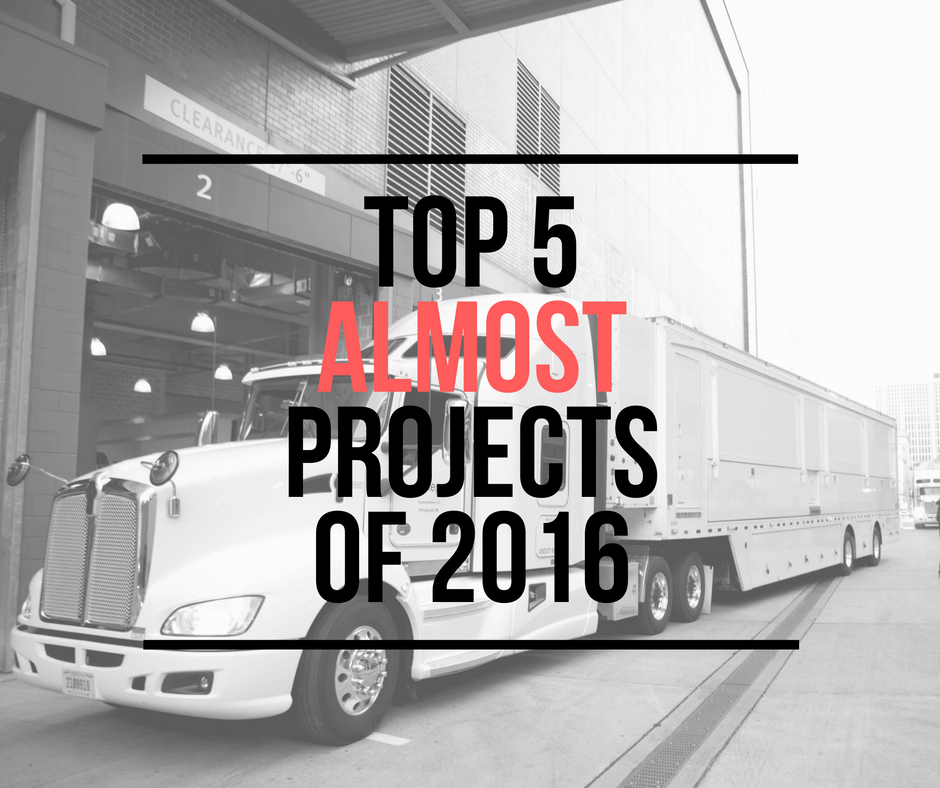 Top 5 ALMOST Projects of 2016