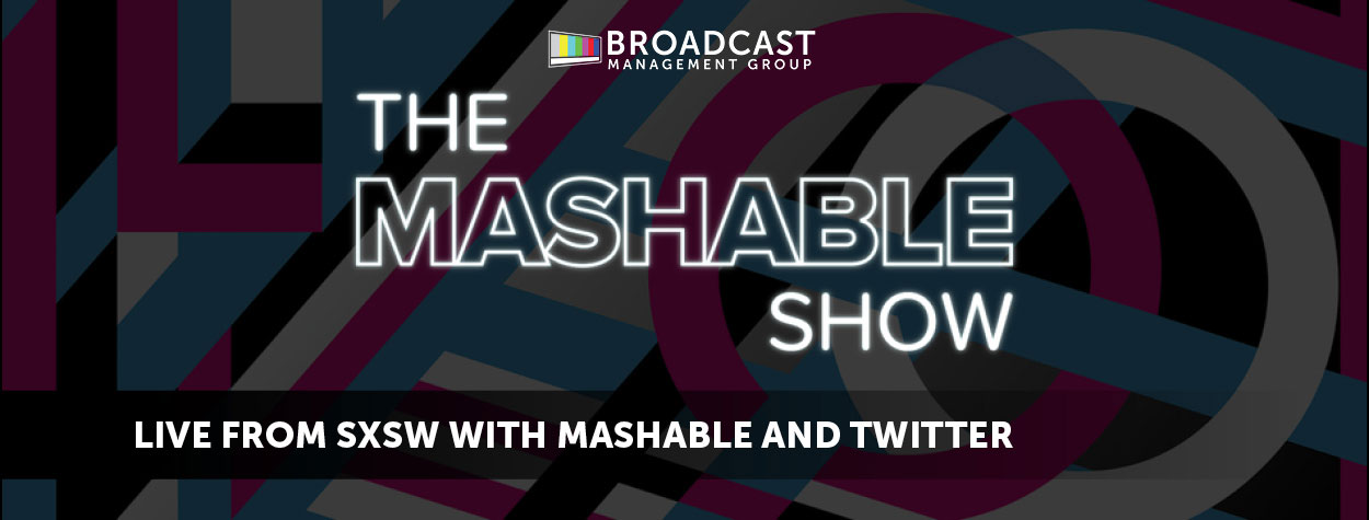 Live Production Look Back: BMG at SXSW with Mashable & Twitter